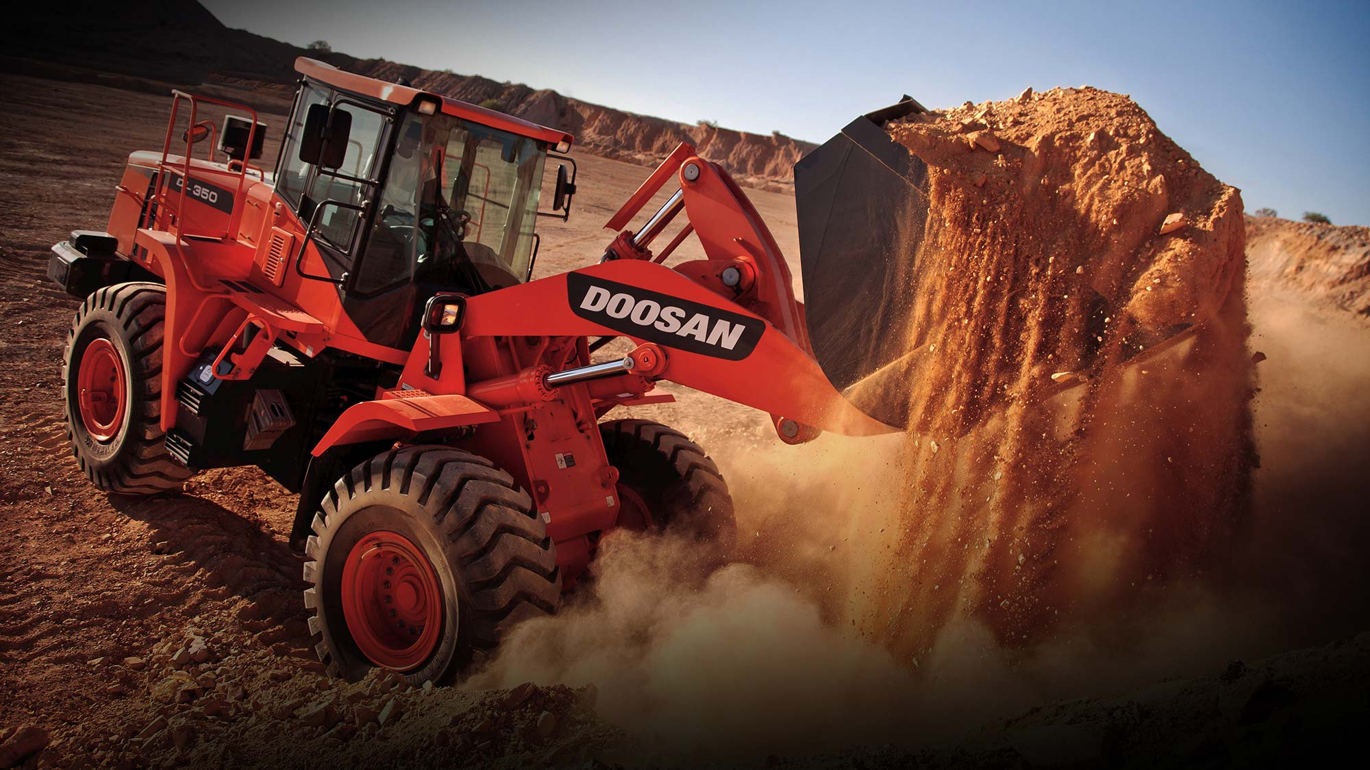 Suppliers of Doosan and Mustang Construction Equipment